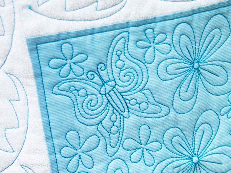 Quilt 4 Summer Butterflies - 5D QuiltDesignCreator